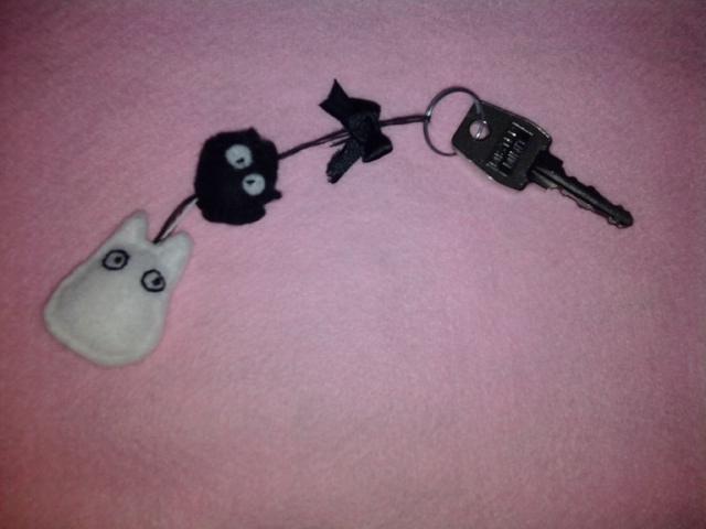 Portes clefs en feutrine =) Photo010