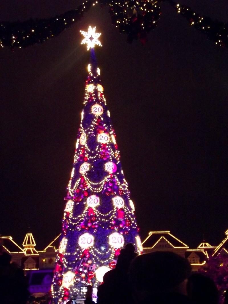 Vos photos nocturnes de Disneyland Paris Sapin_10