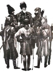 Military art of Circassians