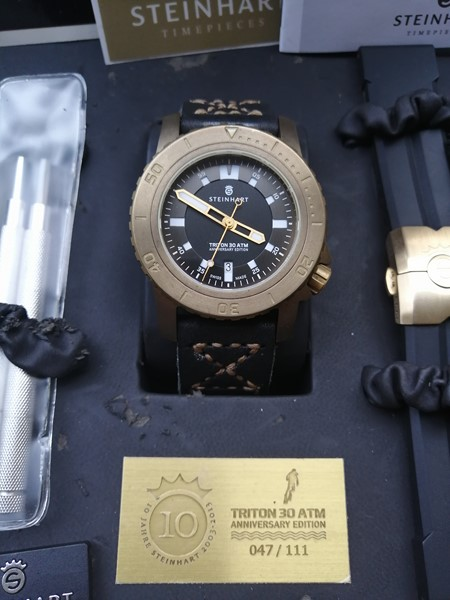 [Vends-baisse de prix] Steinhart Triton 30ATM Anniversary Limited Edition Img_2011