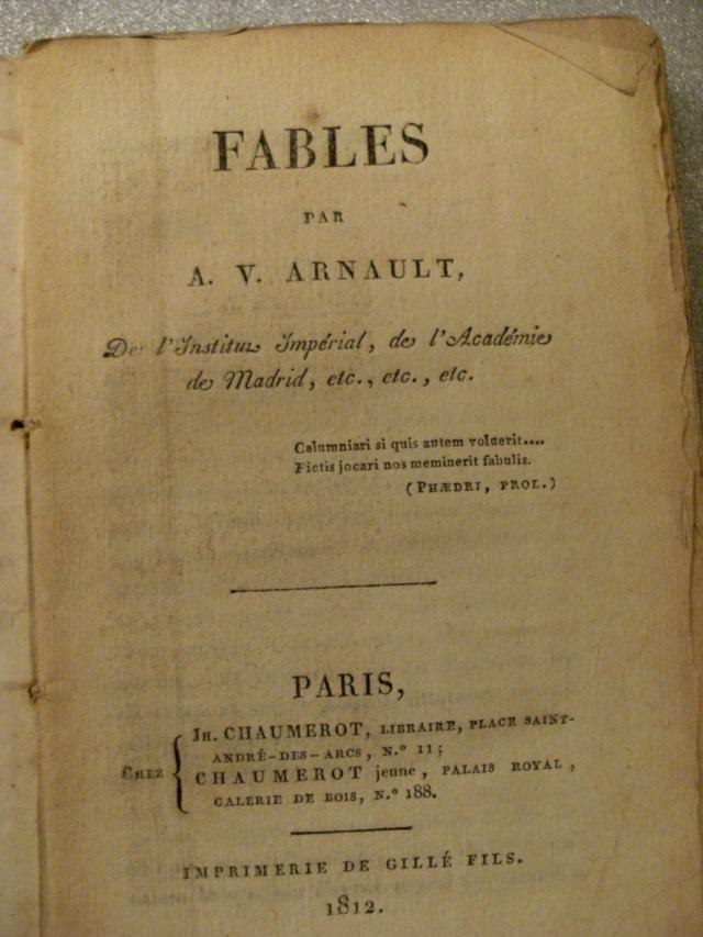 LIVRES: Monsieur DE VOITURE XVIIe  ET A.V ARNAULT XIXe Arnaul10