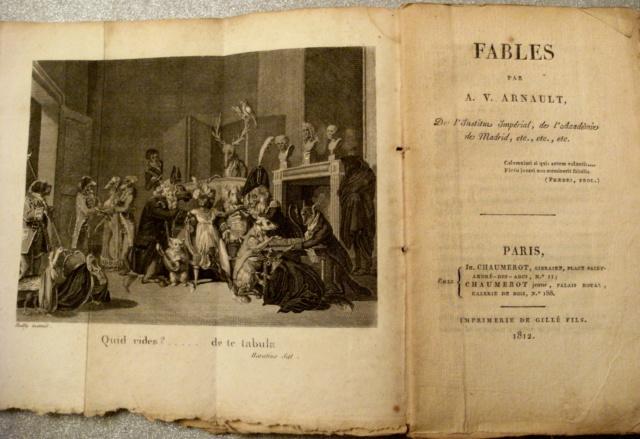 LIVRES: Monsieur DE VOITURE XVIIe  ET A.V ARNAULT XIXe Arnaul11