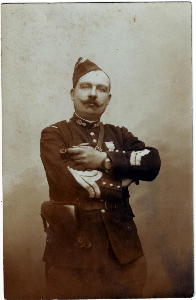 Eugène PAQUIET  Maréchal des logis de gendarmerie 1914 Gendar10