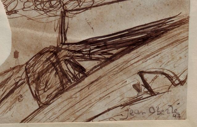 Un dessin à l'encre attribué à Jean OBERLE Oberle10