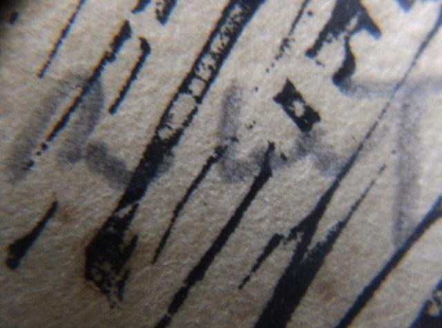 Une gravure sur bois ? avec un poème et une signature! Pierro14