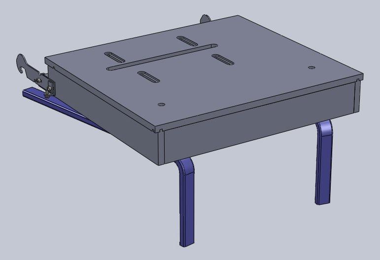 Table de scie circulaire pour FLIP de Lurem Table-15