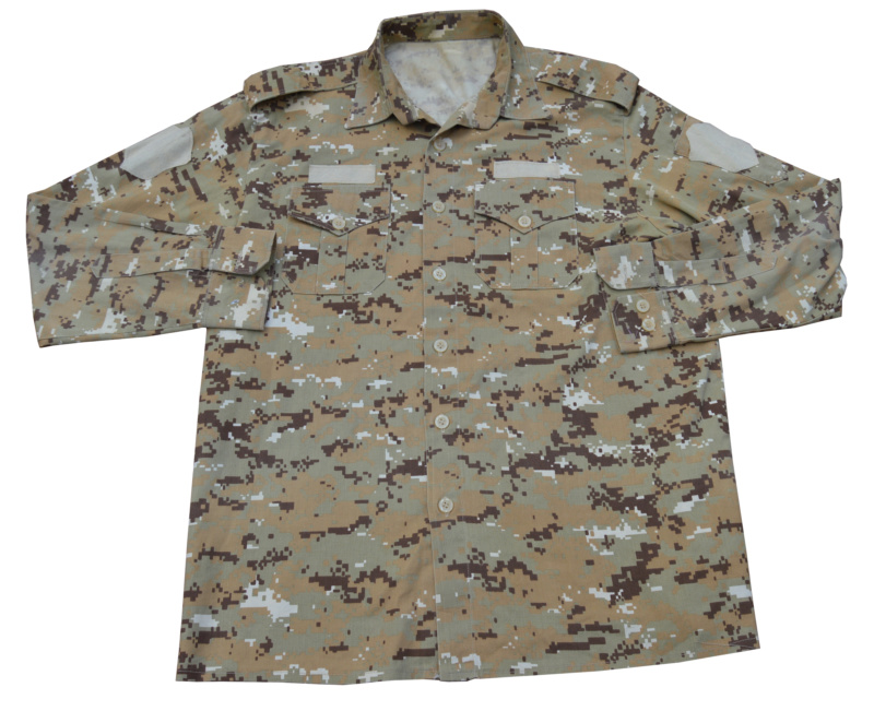 Iraqi Chia militia officer shirt in Marpat pattern Dsc_0232