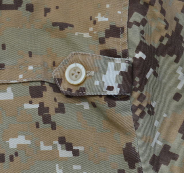Iraqi Chia militia officer shirt in Marpat pattern Dsc_0233