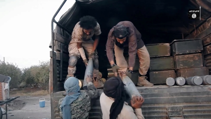 ISIS Marpat woodland Qamis  Vlc00011