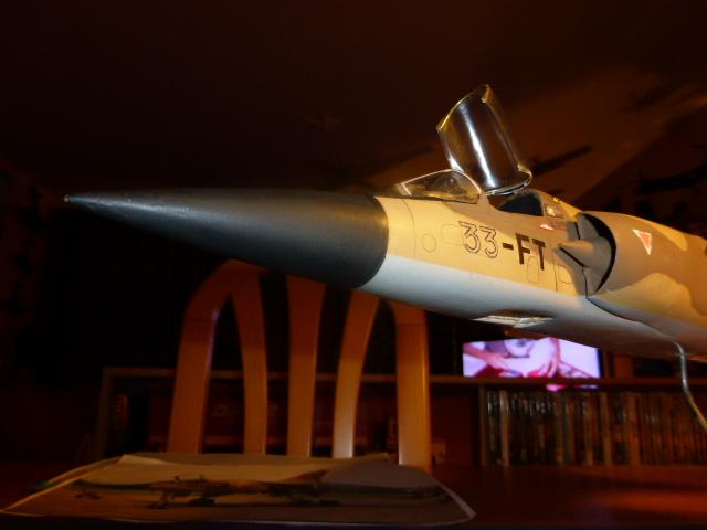 Mirage F1 - C en bois et carton 1/3 P1000111
