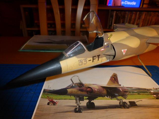 Mirage F1 - C en bois et carton 1/3 P1000112