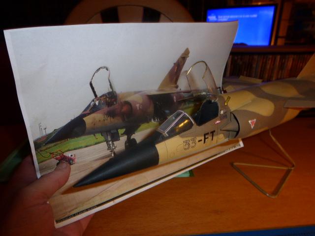 Mirage F1 - C en bois et carton 1/3 P1000113