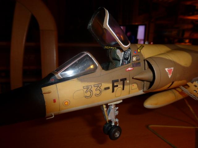 Mirage F1 - C en bois et carton 1/3 P1000216