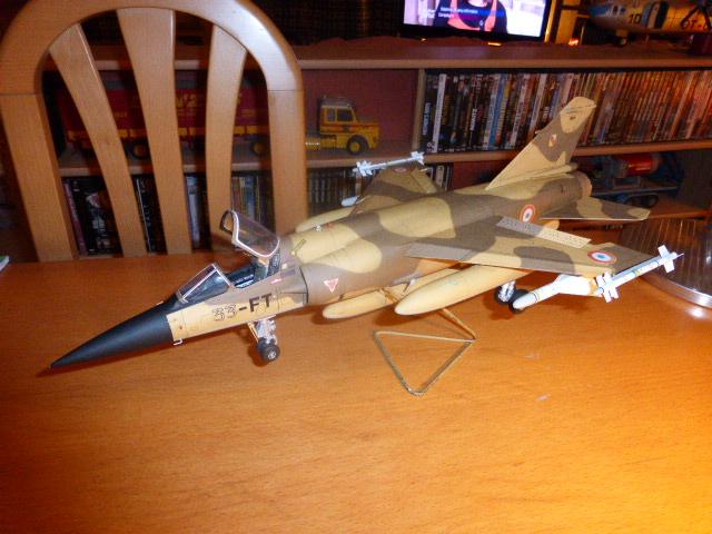 Mirage F1 - C en bois et carton 1/3 P1000220