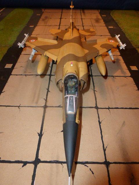 Mirage F1 - C en bois et carton 1/3 P1000311