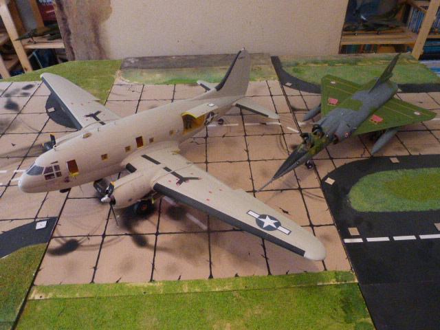 Mirage IV 1:32 en bois et carton P1020645