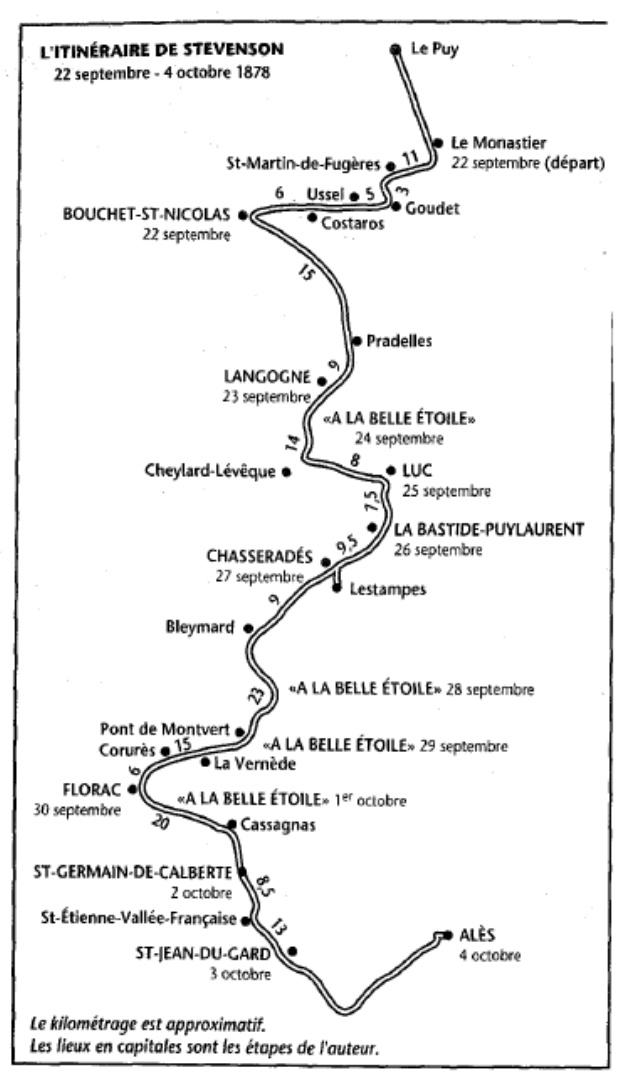 [Stevenson, Robert Louis] Voyages avec un âne dans les Cévennes Voyage10
