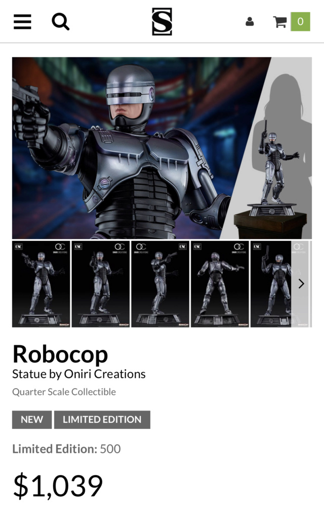 Oniri Créations : RoboCop (1987) 1:4 - Page 5 81334810