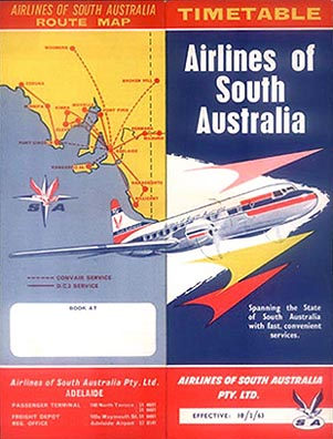 1963 Airlines of South Australia : Le Sud Australien sous Flight Simulator Gj630210
