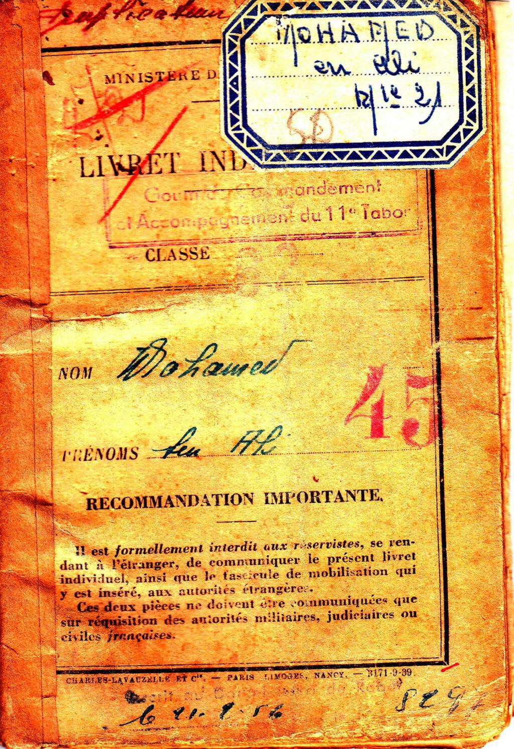 Combats à la Bourbonne Libération d'Aubagne (13) Livret52