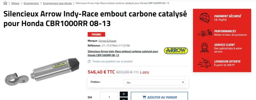 Pot sur CBR 1000 RR SC59 Pot11
