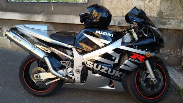 Vends Suzuki 600 GSXR GSX-R 2003 20170211