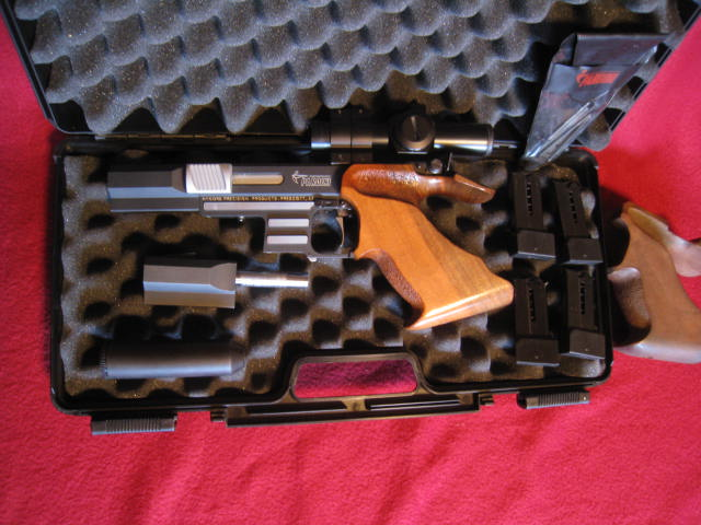 SOLD:--> PARDINI HP 32 S&W Long with Dave Wilson fast twist 50yd Barrel. SOLD, Gone to a new home in OHIO Img_7614