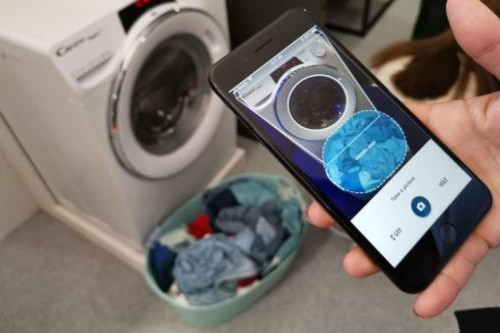 Candy Rapid'Ò: Το πλυντήριο ρούχων που βλέπει τα ρούχα και αποφασίζει πώς θα τα πλύνει!  1139