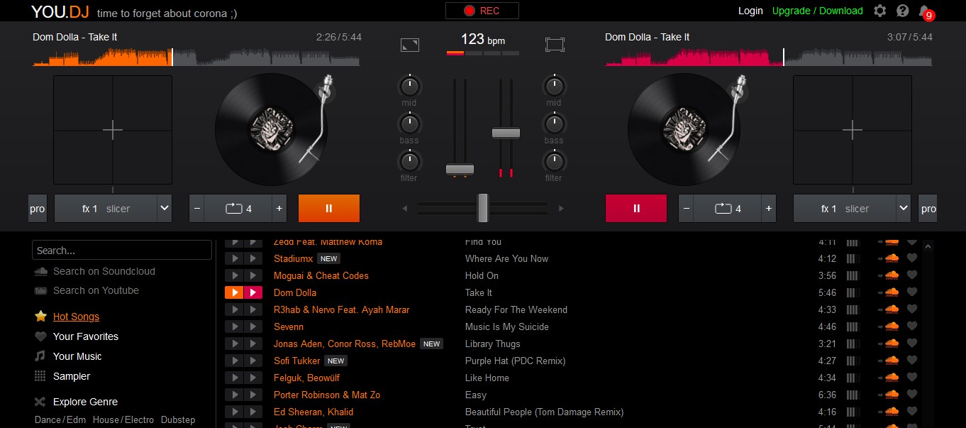 YOU.DJ: Online εφαρμογή για dj's 1194