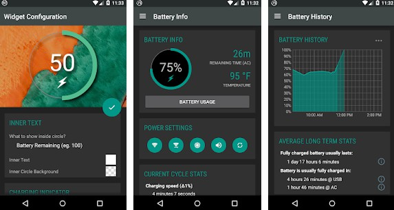 Android: Battery Widget Reborn 3.1.21 1202