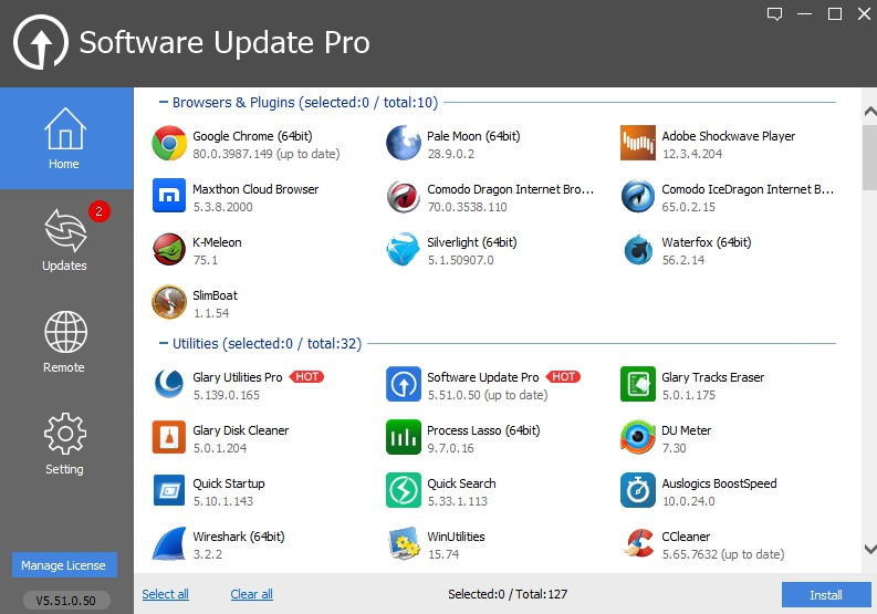 Glary Software Update 5.51.0.50 1203