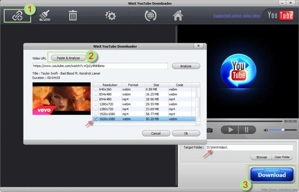 WinX YouTube Downloader 5.8 12030510