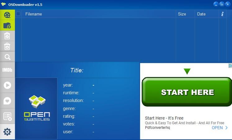 OSDownloader 1.5 - Κατεβάστε υπότιτλους για ταινίες από το OpenSubtitles.org 1208