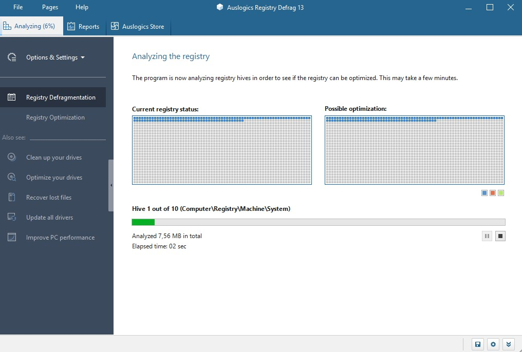 Auslogics Registry Defrag 13.2.0.0 2156