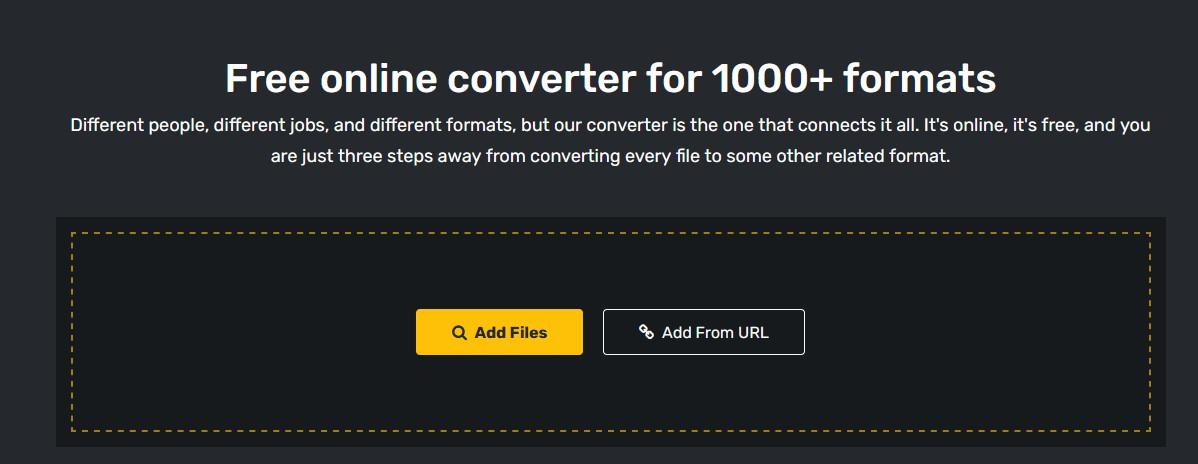 converter365: Online μετατροπέας για 1000+ formats 368