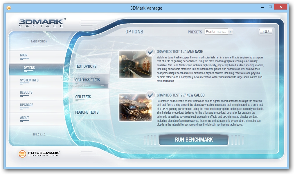 3DMark Vantage 1.1.3 - Μετρήστε τις επιδόσεις του pc σας για τα games 3dmark10
