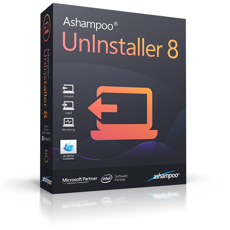 Ashampoo UnInstaller 8 (Review) Box_as18