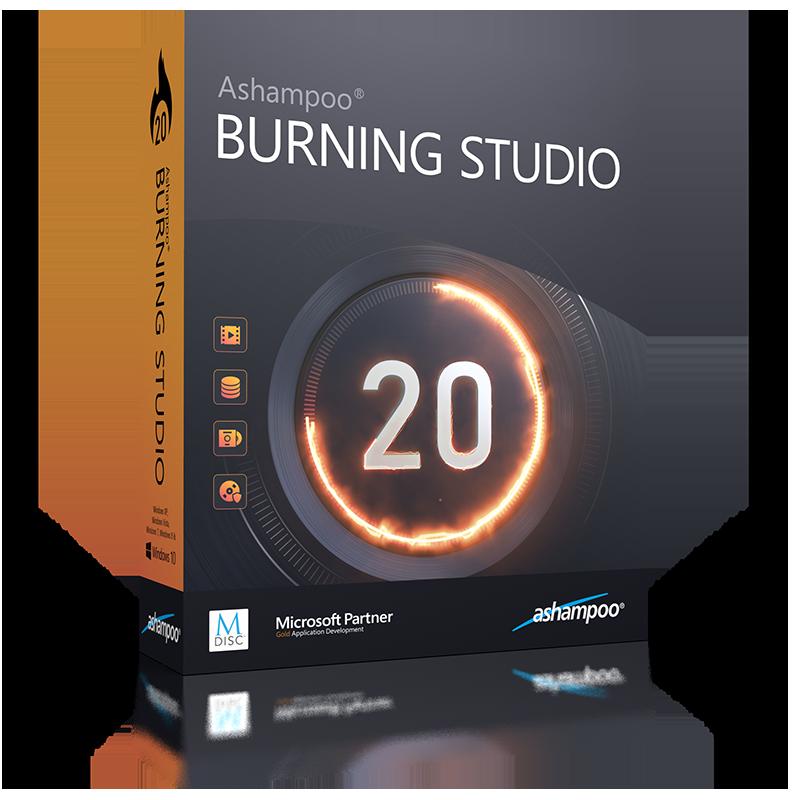 Ashampoo Burning Studio 20 (Review) Box_as19