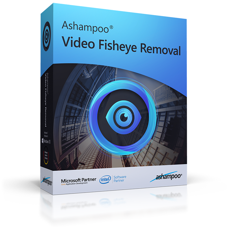 Ashampoo Video Fisheye Removal (Review) Box_as20
