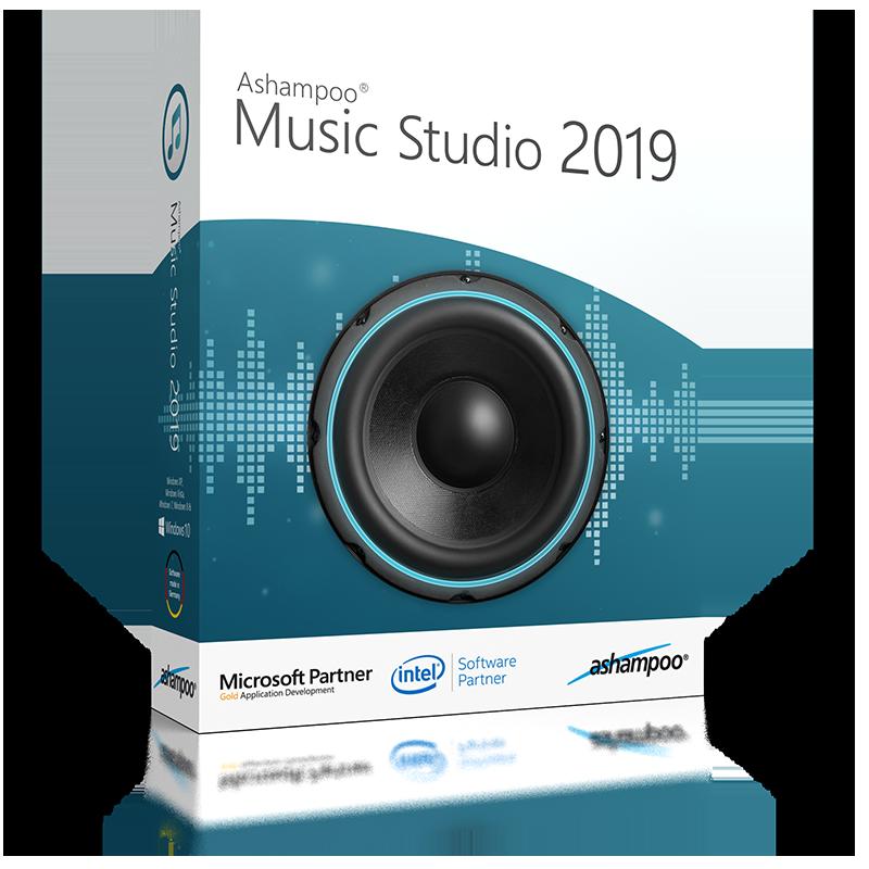 Ashampoo Music Studio 2019 (Review) Boxsho14