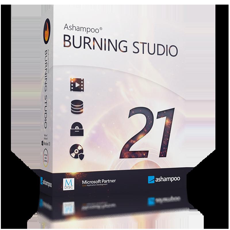 Ashampoo Burning Studio 21 (Review)  Boxsho16
