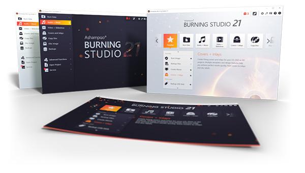 Ashampoo Burning Studio 21 (Review)  Burnin11