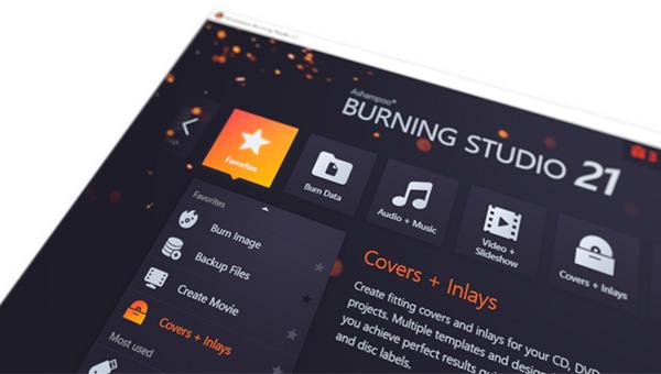 Ashampoo Burning Studio 21 (Review)  Burnin13