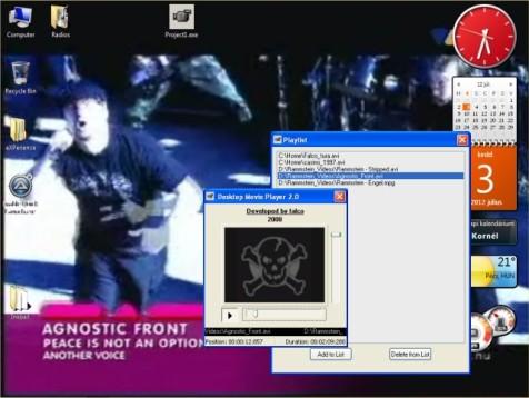 Desktop Movie Player 2.6.3 - Βάλτε τα αγαπημένα σας βίντεο στην επιφάνεια εργασίας Deskto10