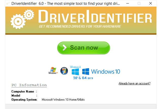 DriverIdentifier 6.0 Driver11