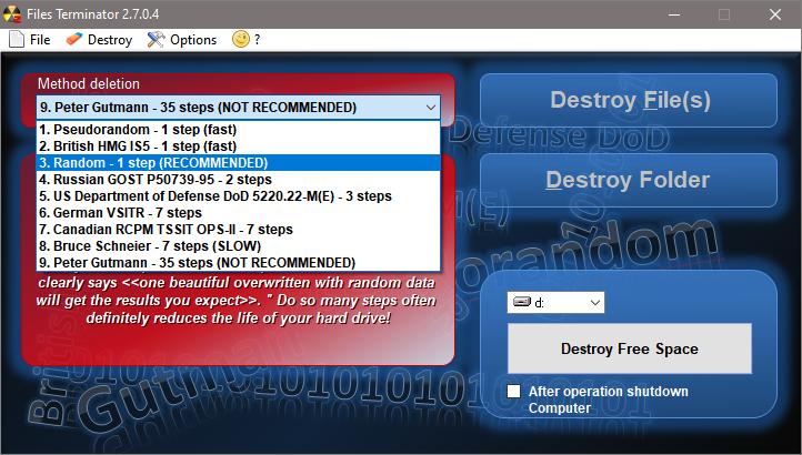 Files Terminator Free 2.7.0.4 Files-10