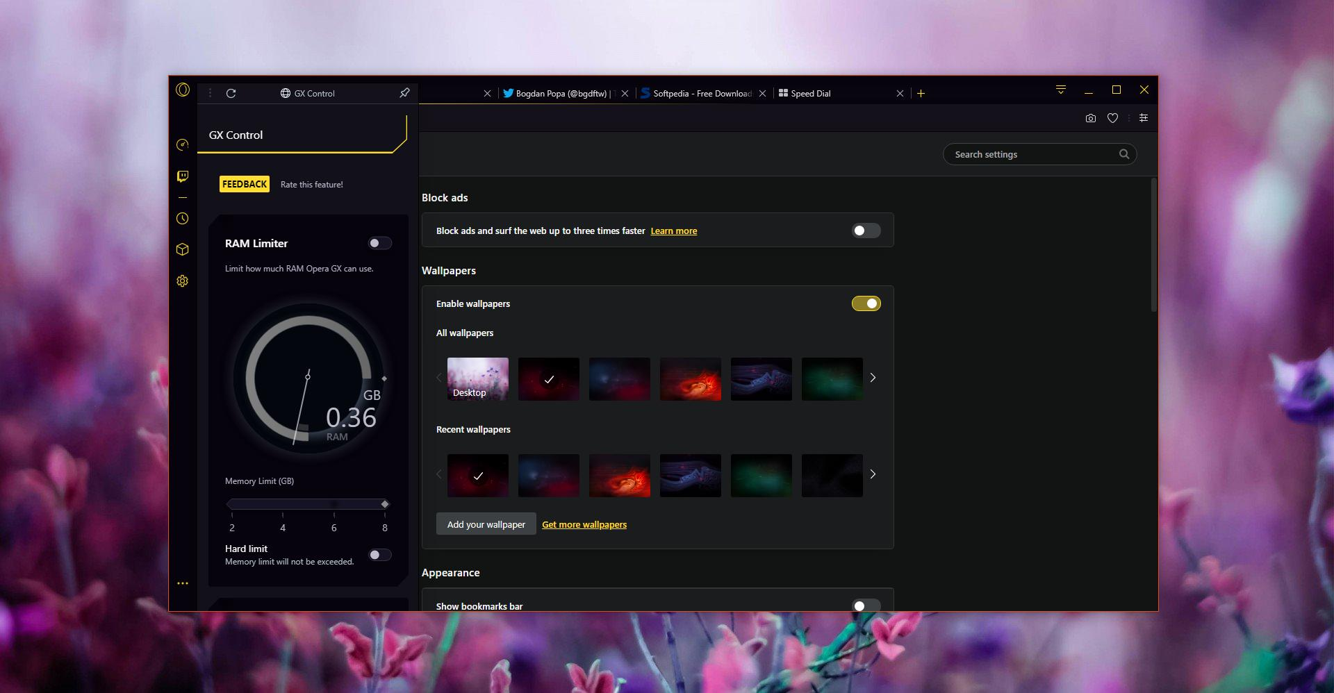 Opera GX: Tο πρώτο πρόγραμμα περιήγησης για gamers στον κόσμο Gettin11