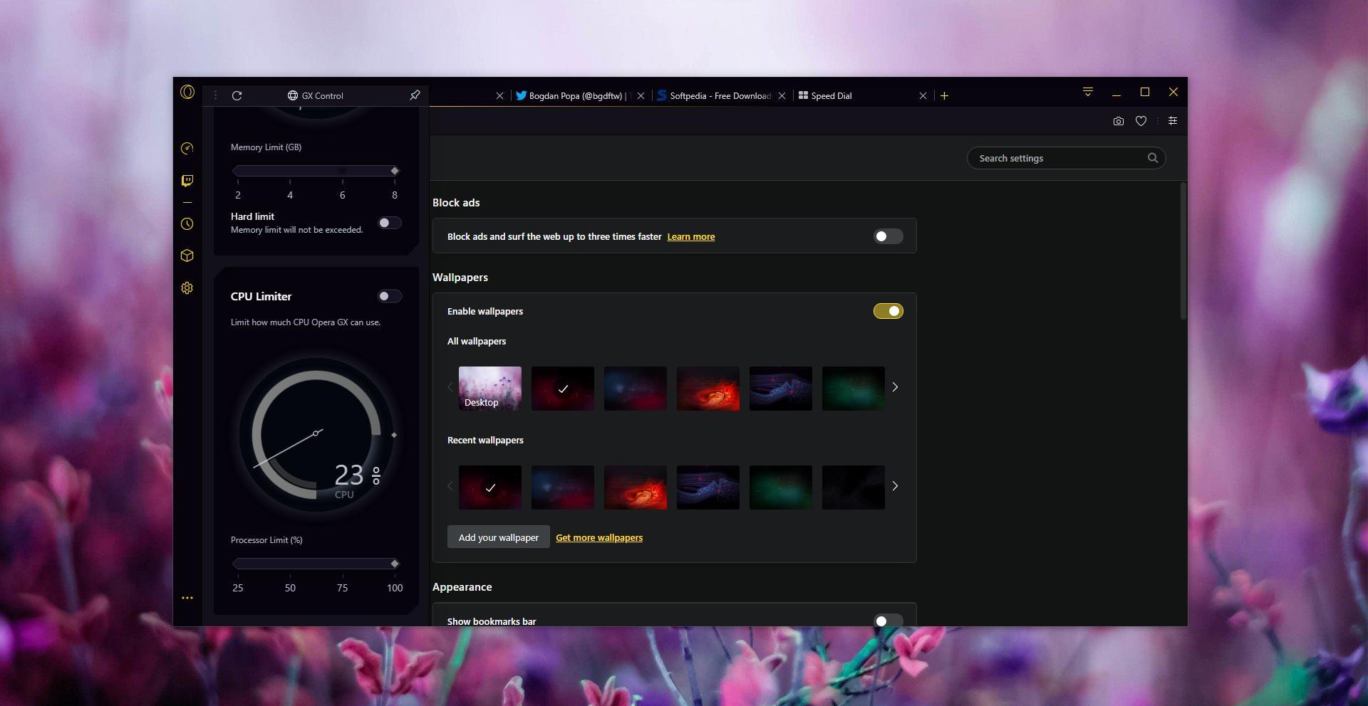 Opera GX: Tο πρώτο πρόγραμμα περιήγησης για gamers στον κόσμο Gettin12