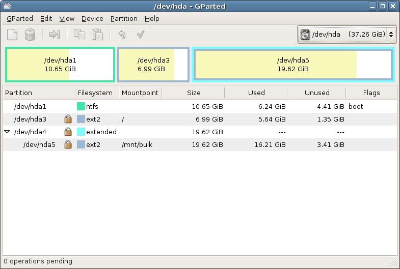 Linux Gparte10