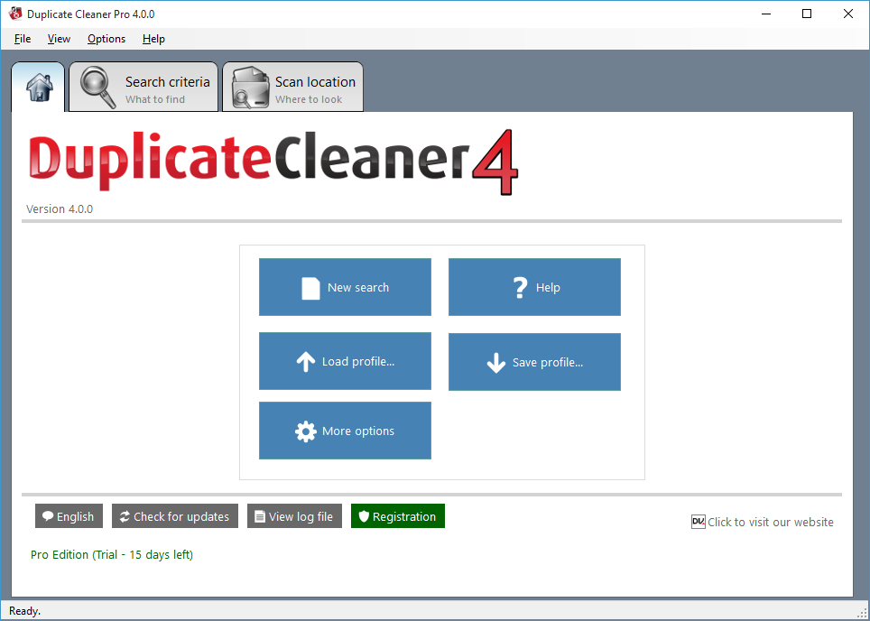 Duplicate Cleaner Free 4.1.4 Home10